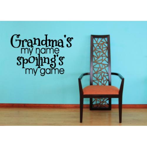 Grandma's my name