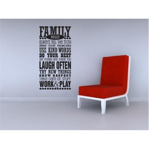 Family/Whanau/Classroom Rules